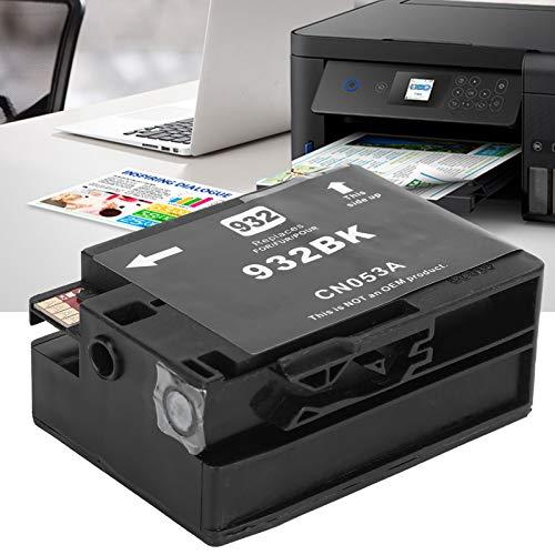 Cartucho de Tinta, Cartucho de Tinta de Impresora de 40 ml, Cartucho de Tinta para HP OfficeJet, para HP OfficeJet 933 6600 6700 7110 7510 7512 7612