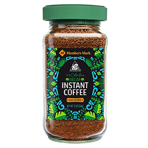 Daily Chef 100% Colombian Decaffeinated Freeze Dried Instant Coffee, 12 oz