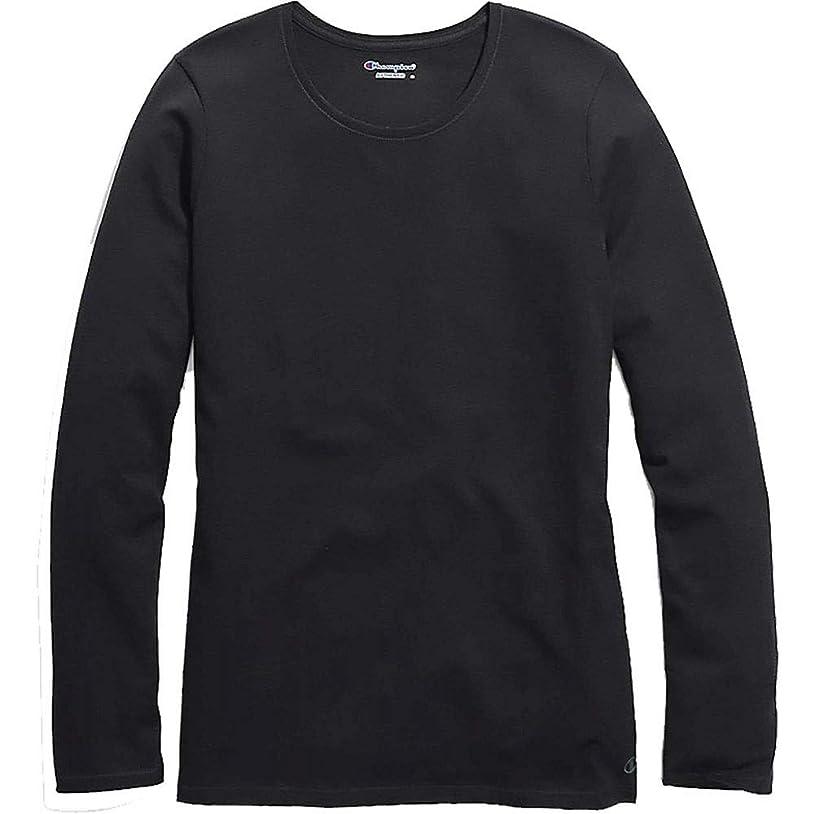 前兆エンドテーブル原告(チャンピオン) Champion レディース トップス 長袖Tシャツ Plus Size Jersey Long Sleeve T-Shirt [並行輸入品]