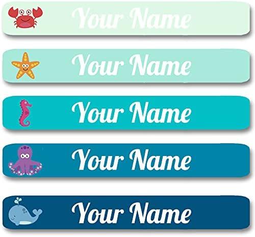 100 Pcs Personalized Labels for Kids School Supplies...