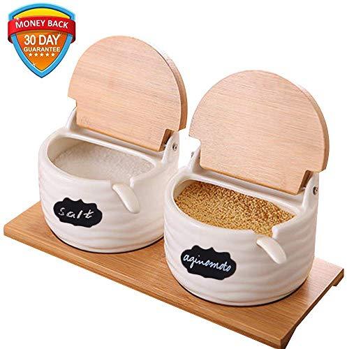 Ceramic Sugar Bowl with Lids