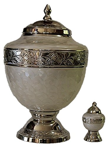 Cremation Urns, Adult Funeral Cremation Urn with Keepsake, Urn for Human Ashes