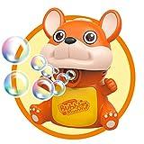 Josopa - Pistolet à bulles pour enfants - Jouet avec lumière clignotante à LED automatique en quelques minutes - Recharge facile pour les tout-petits