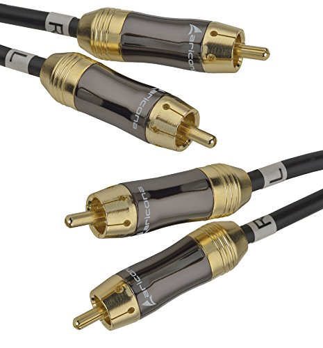 aricona 2 x Cinch a 2x Cinch cable - Cable coaxial digital...