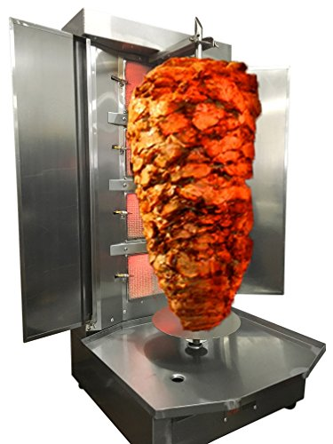 Spinning Grillers Shawarma Machine- 4 Burners- Propane Gas -...