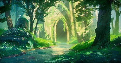 SHENQI- Póster La Leyenda De Zelda Anime 8 -Jigsaw Puzzle De Madera De 1000 Piezas para Adultos, Rompecabezas Clásicos, Puzle Creativo para Niños Educativos 75X50Cm