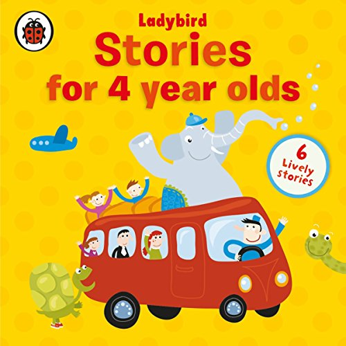 Stories for Four-Year-Olds audiobook cover art