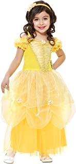 Charades Kids Girls Belle Beauty and the Beast Halloween Costume