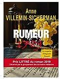 Rumeur 1789 Prix Littré du roman 2019: Une enquête d'Augustin Duroch