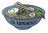 TINY BEE CARDS -'So Ramentic' Ramen Soup Pun Hard Enamel Pin