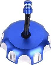 Billet Gas Fuel Tank Cap Cover for Yamaha YZ85 YZ125 YZ250 YZ250F YZ450F WR250F WR450F 2003-2016 (Blue)