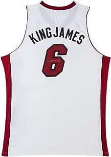 LeBron James Signed Miami Heat Swingman Nickname Jersey