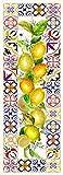 VILBER Alfombra Vinilo Capri Color 01 52X140X0,22 CM