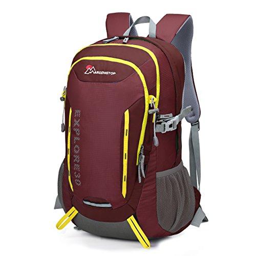 Mountaintop 30L Zaino Trekking /Zaino PC/Zaino casual /Zaino Sacchetto/Zaino escursionismo 54*41*22 CM Giuggiola rosso