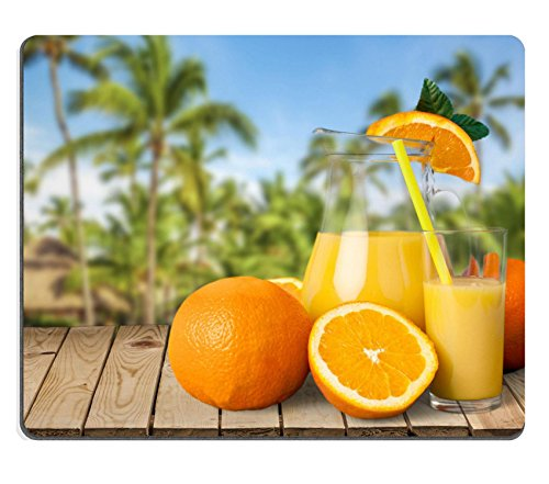 Luxlady Gaming Mousepad ID: 42719438 Sap Oranje Vitamine C