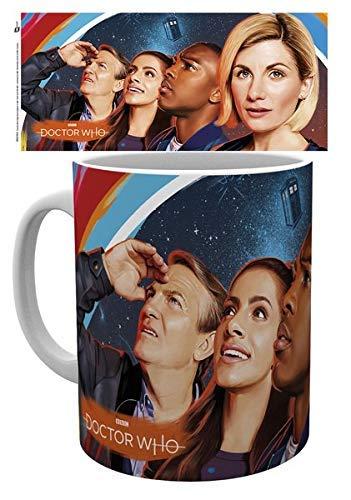 Doctor Who Keramik Kaffeetasse Tasse Gemälde Dr. WHO