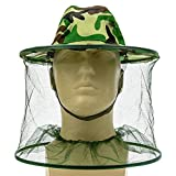 Jetland Mosquito Head Mesh Net and Hat or Beekeeping Protection
