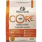 Wellness CORE Grain-Free Original Formula Dry Cat Food, 11 Pound Bag