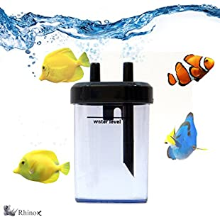 Rhinox BPA-Free Plastic DIY Co2 Bubble Counter - Accurate Co2 Reading for Healthier Fish and Aquatic Plants - Quick & Simple to Connect to Aquariums - Used with Co2 Diffuser Set:Shizuku7148