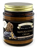 Manuka Honey Skin Healing Cream - INTENSIVE MOISTURE for Sensitive Skin, Eczema, Psoriasis, Dermatitis prone skin - INSTANT RELIEF - Certified Paleo, Grassfed Tallow - Balm of Gilead