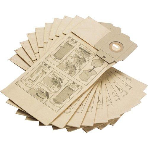 Kärcher 6.904-294 Filtertüten CV 30/1, CV 38/2, CV 48/2, 10 Stück