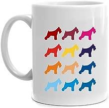 Eddany Colorful Standard Schnauzer Mug