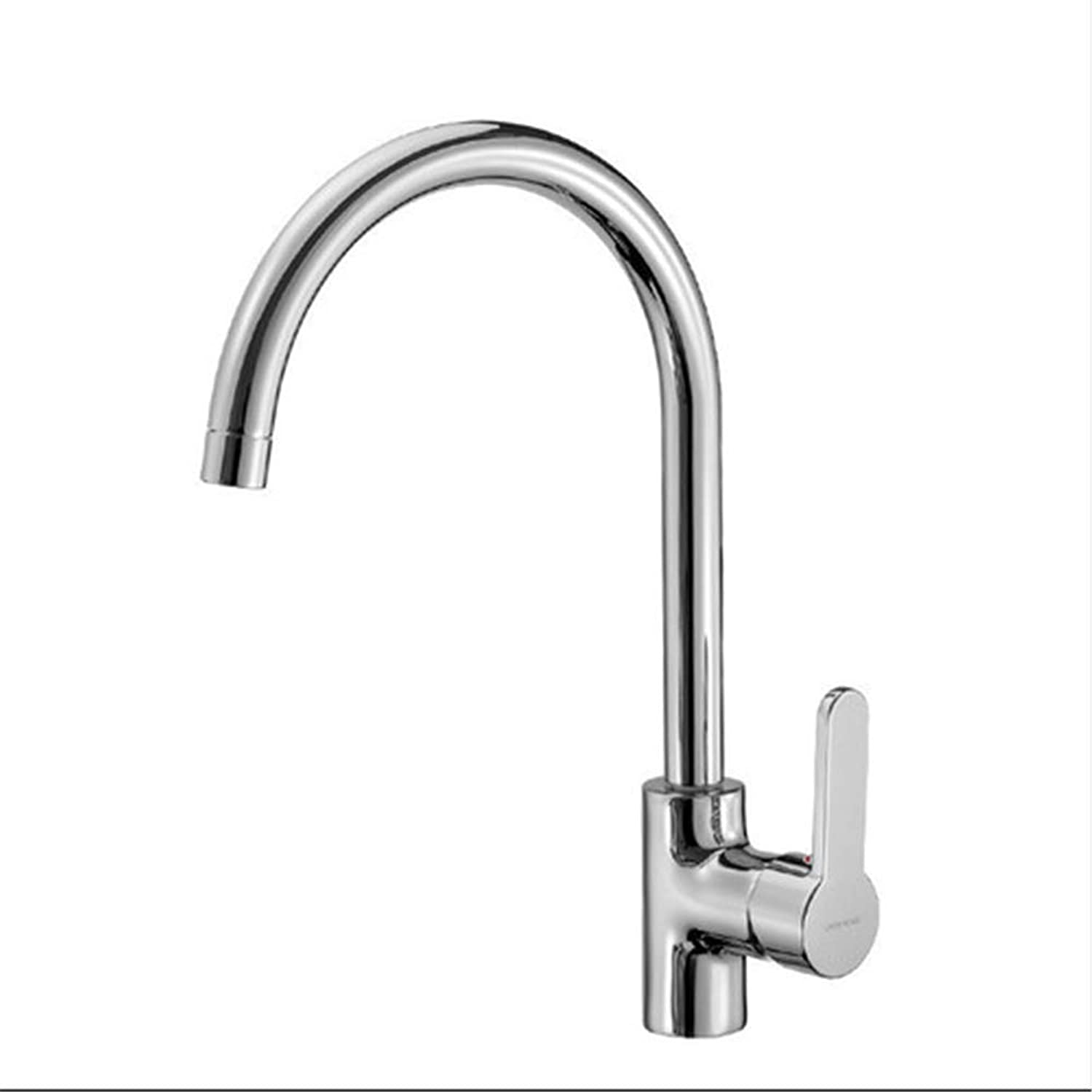 Kitchen Taps Faucetmodern Kitchen Sink Tapsstainless Steelbrass Healthy Hot and Cold Kitchen Pots Faucet