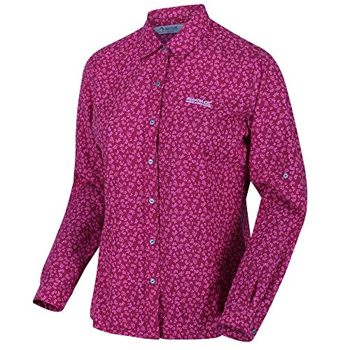 Regatta Womens Nimis II Quick Dry Wicking Long Sleeve Shirt