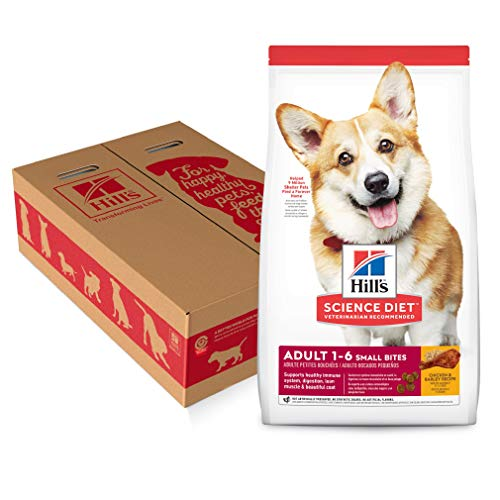 Hill's Science Diet Dry Dog Food, Adult, Small Bites, Chicken & Barley Recipe, 35 lb Bag