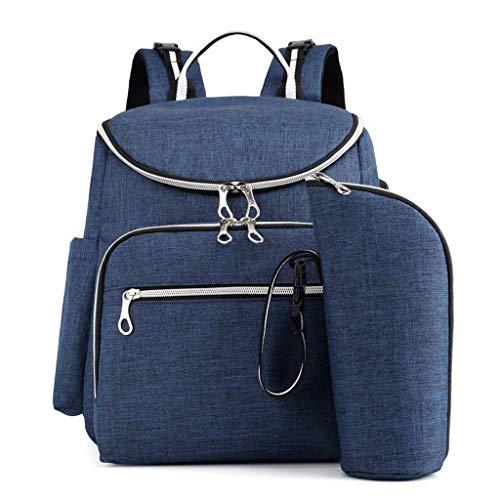 Grote luiertas Rugzak Anti-Water Moederschap luiertassen veranderen zakken met geïsoleerde zakken en wandelwagen riemen multifunctionele Travel Back Pack ingebouwde USB opladen poort