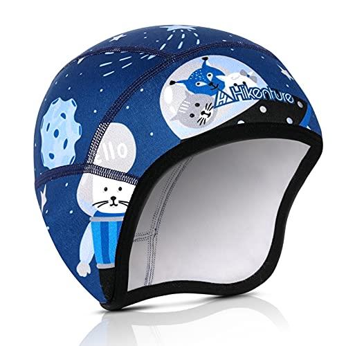 Hikenture Kids Skull Cap Helmet Liner Winter Hat for Boys and Girls Beanie Ski Hat(5)