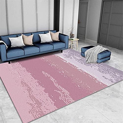 Rosa Alfombras De Pelo Corto Classic Pretty Bonus Resumen Multi-color Ampliación suave y cómoda Almohadilla de seguridad Salón Salón Alfombra para el hogar alfombras para niños alfombras de c300x400CM