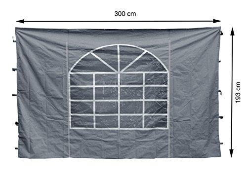 GRASEKAMP Qualität seit 1972 2 Seitenteile 300x193cm zu Sahara 3x3m