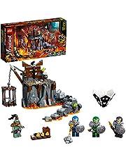 LEGO NINJAGO Reis naar de kerkers van Skull 71717 ninjaspeelset bouwspeelgoed voor kinderen met ninja-actiefiguren (401 onderdelen)