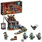 Ninjago TV Series Viaje a las Mazmorras Calavera2en1Set de Construcción y Juego de Mesa, multicolor (Lego ES 71717)