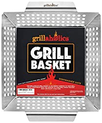 Grill basket grilling gift for dads