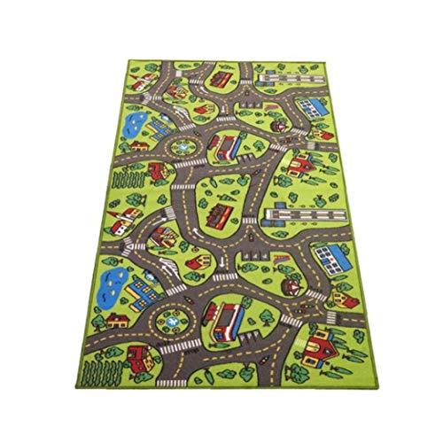 Case Cover 1pc Kind Play-bodenmatte Straßenverkehr Decke Boden Teppichboden Teppich Mat Ort Stadt Mat Blanket Teppich Für Wohnzimmer