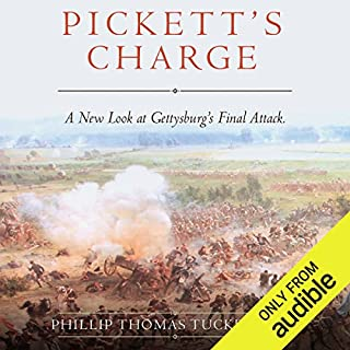 Pickett's Charge audiobook cover art