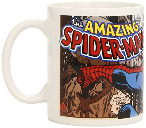 Marvel Semic Distribution - SMUG018 - Ameublement et Décoration - Mug Retro Série 1 - Spiderman