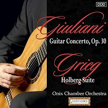 Giuliani: Guitar Concerto, Op. 30 - Grieg: Holberg Suite