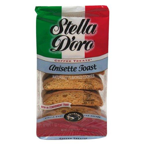 Stella D'Oro Toast, Anisette, 5.7-Ounce...