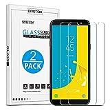 OMOTON Protector Pantalla Compatible para Samsung Galaxy J6 2018, 2.5D...