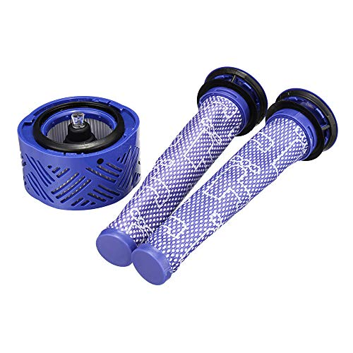 EsportsMJJ 2 stks Pre Filter met Hepa Filter Kit Vervanging voor Dyson V6 Stofzuigers Reserveonderdeel