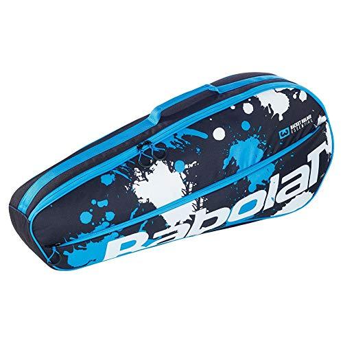 Babolat Club Essential Racket Holder X 3, Black/Blue/White