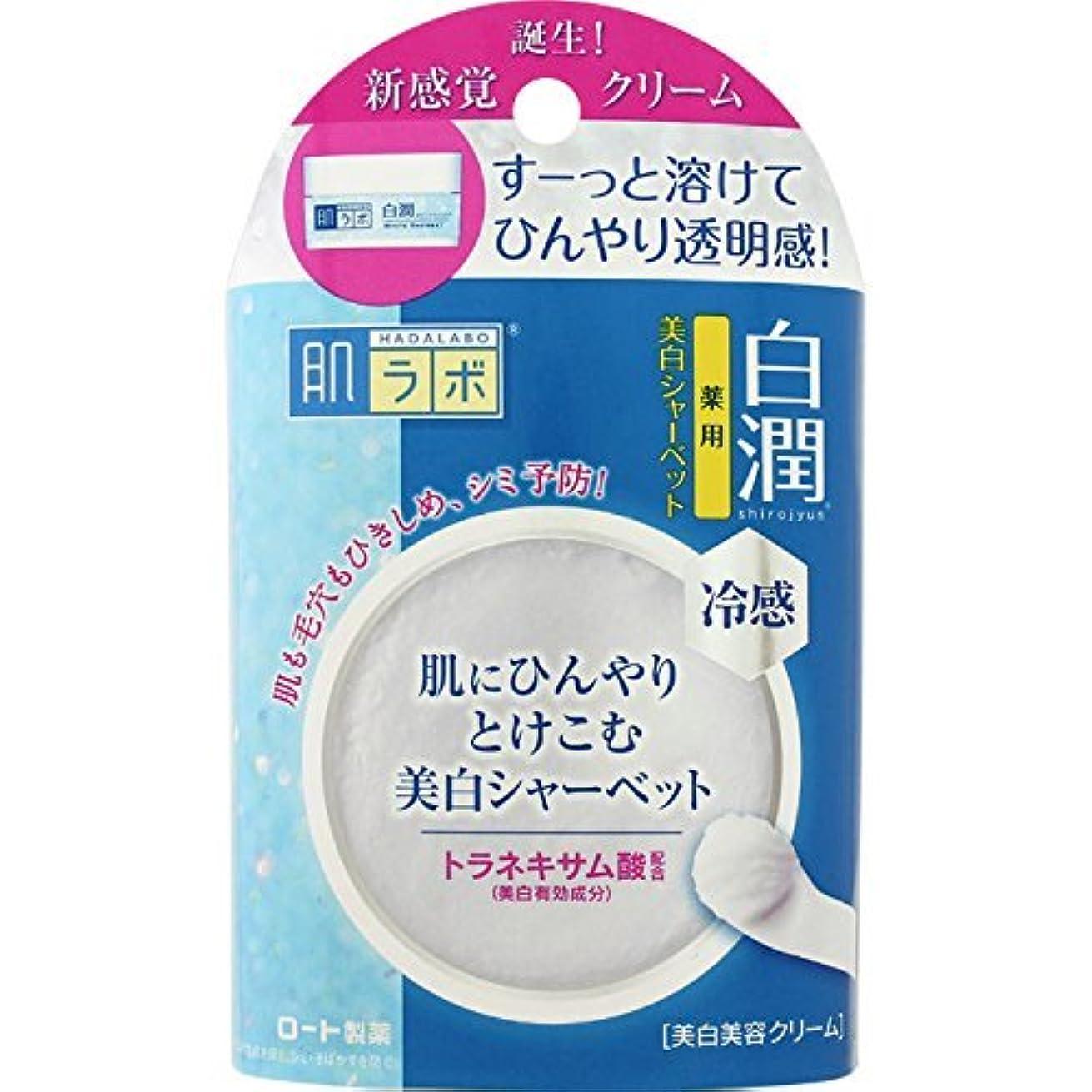 乱暴な設計現金肌ラボ 白潤 冷感美白シャーベット30g (医薬部外品)×3