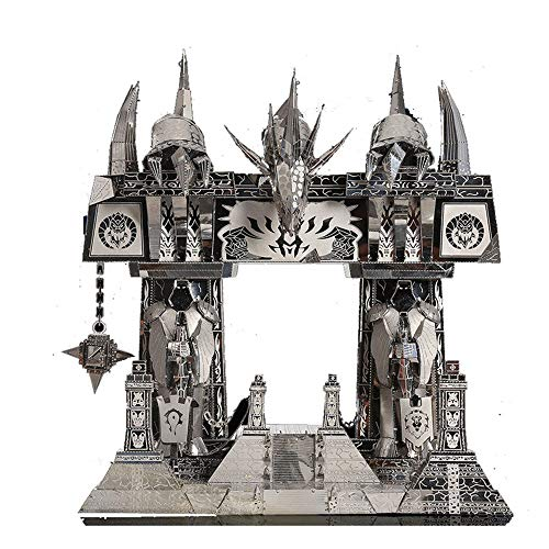 Picture Kingdom World of Warcraft The Dark Portal Model Kits PJ158 DIY 3D Metall Puzzle Laserschnitt Modell-Bausatz Spielzeug
