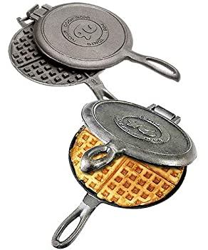 Rome Cast Iron Old Fashioned Waffle Irons Pack of 2