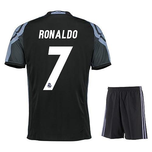 ea1ae352f82 2016 Real Madrid Third Ronaldo #7 Adult 2016-2017 with Free Short a Set