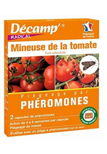 Décamp - Phéromone contre la mineuse de la tomate (2 capsules)