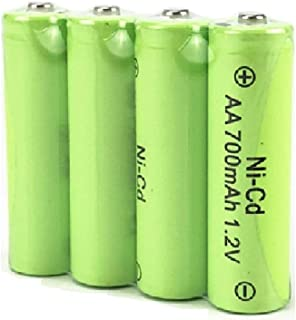 1.2V AAA Rechargeable Battery, Cotchear AAA 700mAh Rechargeable Ni-Cd Batteries 3 Pcs AAA Battery - Rechargeable Cycle Used More Than 500 Times (4 pcs)